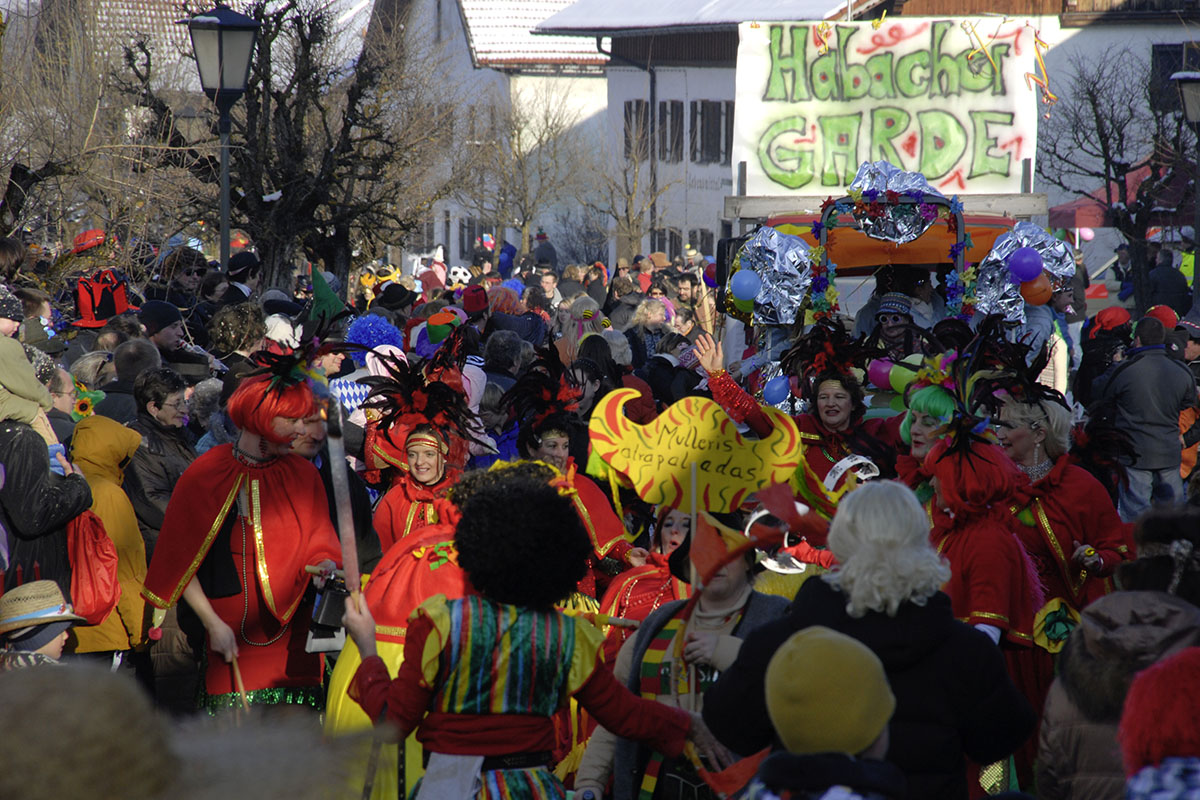 Fasching in Habach
