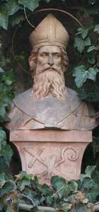 Ulrichsbrunnen Habach Detail
